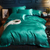 Made in China Silk Bed Linen Bedding Set