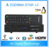 Satellite Receiver Zgemma Star LC Set Top Box with Internet Connection