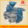 Guangxin 330kg/H Combined Oil Press Machine with Oil Filter Yzyx130wz