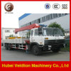 Dongfeng 6X4 10ton Telescopic Boom Truck with Crane