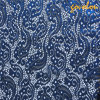 Lastet Design Blue Organza Lace Fabric