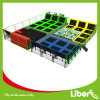 Free Design Large Indoor Trampoline Park with Dodgeball, Basketball and Foam Pit