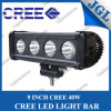 "Single Row 4*10W CREE LED Light Bar off Road, 10"" LED Driving Light, LED Flood/Spot Work Light Bar, 12volt LED Bar Lighting"