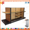New Customized Supermarket Wooden Retail Store Fixture (Zhs255)