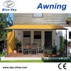 Metal Frame Retractable Invisible Awning Screen (B700)