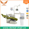 Electricity and Air Power Source Dental Unit with Ceramic Spittoon