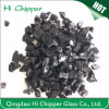 Black Colored Terrazzo Decorative Glass Chips