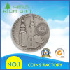 Pure Antique Silver Coin with Tower Logo on It