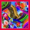 Beautiful and Fashionable Custom Digital Printing Silk Scarf (F13-0015)