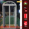 German UPVC Low E Double Glass Casement Window with Arch