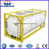 ISO Standard Carbon Steel 20FT or 40FT Gas Tank Container