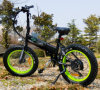 2017 New Design Ebike 36V 250W Folding Electric Bike with Velo Black and Grey Grip
