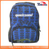 Handmade Plaid Silk Screen Vintage Backpack Large Travel Backpack