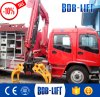 Hydraulic Timber Crane with Loading Arm