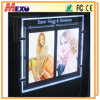 Single Sided Crystal LED Light Box Magnetic Slim Light Pocket