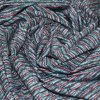 High Quality 280GSM Polyester Spandex Stripe Fabric for Clothing