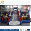 Giant Inflatable Combo, Amusement Park Inflatable Bouncer with Slide