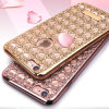 Electroplating Agate Diamond TPU Case for iPhone 6 Plus