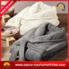 Extra Long Solid Color Hotel Velour Cotton Bathrobe