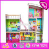 Best Gift Set Luxurious Wooden Kids Doll House with Furniture W06A246