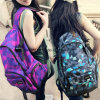 Bwf1-221 Fashionable Girls′ School-Bag Solid Color Shoulder Bag Knapsack Bag