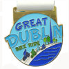 Great Dublin Bike Ride Soft Enamel Metal Gold Medal