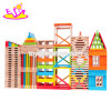 New Hottest 300 PCS Blocks Play Ideas Wooden Large Building Blocks for Children W13D162