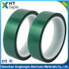 0.06 mm Thick Silicone Pet Green Tape for Paint Masking