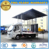 Foton 30m2 Extendable Stage Vehicle 6 Wheels Outdoor Stage Performing Truck
