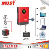 2kVA/1600W DC24V Pure Sine Wave Power Inverter High Frequency