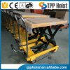 350kg Movable Hydraulic Hand Manual Double Scissor Lifting Table Ptd350A for Sale