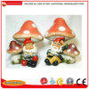 Polyresin Gnomes for Garden Statue Decoration, Resin Dwarf Figures Crafts
