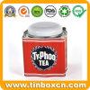 Vintage Tea Bags Storage Tins for Metal Tea Caddy Packaging