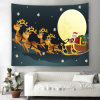 Christmas Decoration Snowman Tapestry Wall Hangings