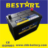 12V 80ah Maintenance Free Car Battery 95D31L