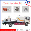 Pully Manufacture Truck Mounted Concrete Delivery Pump