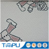 New Cartoon Pattern Design 100% Polyester Jacquard Shell Fabric Mattress