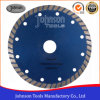 150mm Continuous Diamond Blade with Turbo Type for Cutting Stone