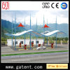 PVDF Cover Wave Shape Toll Shading Tent Guarantee 10 Years