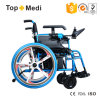 New Product Europe Medical Folding Five Fork Wheel Power Electric Wheelchair for Disabled