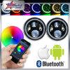 LED Headlight with RGB Angel Eye for Jeep Car