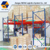 Heavy Duty Blue Frame and Orange Beam Push Back Racking