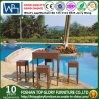 Outdoor Bar Set with Special Weaving Rattan Bar Stool (TG-JW65)