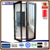 Double Swing Hinged and Casement Door with Clear Glass 12mm