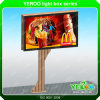 Advertising Outdoor Light Box Signs Billboard Double Sides Scrolling Backlit Billboard