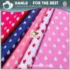 100% Cotton Poplin Fabric with Love Pattern Printed for Bag