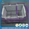 Anti Scratch Double Coat Sparkle Purple Powder Coating for Basket