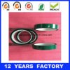 Thickness: 0.07mm Length: 33m High Temperature Green Pet Film Based Silicone Polyester Tape