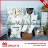 Promotional Decorative Cotton Square Printed Sofa Throw Pillow