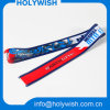 Popular Wholesale Printed Lanyard Ribbon with Heat Transfer Logo